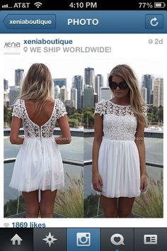 White lace drees I need !!
