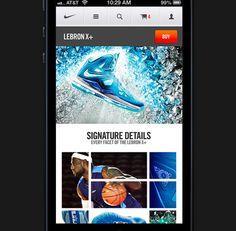 Nike 620x607 12 Briliant Mobile App Redesign Concepts