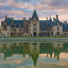 A perfect reflection. #Biltmore