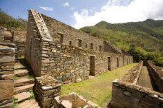 Cusco Peru   Photo of Archaeological Center Choquequirao. Cusco Peru