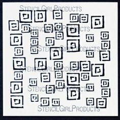 Random Squares Stencil
