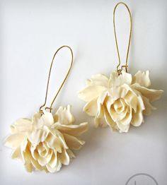 Rose Earrings | Women's Jewelry | Luna Litka | Scoutmob Shoppe | Product Detail