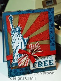 Booth #32: Land of the FREE, I like the textured rays