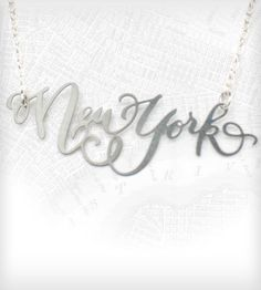 New York Necklace - Stainless Steel