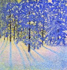 """A Winter Morning"" 1907, Igor Grabar"