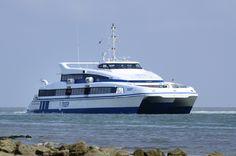 Ms Tiger II #sneldienst #catamaran #Waddenzee #doeksen @Rederij Doeksen #terschelling #Vlieland #Harlingen (credits foto: Jeroen Vriend)
