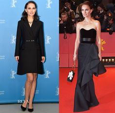 Natalie Portman In Christian Dior & Lanvin - 'Knight of Cups' Berlin Film Festival Photocall & Premiere