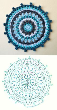 Transcendent Crochet a Solid Granny Square Ideas. Inconceivable Crochet a Solid Granny Square Ideas. Crochet Diy, Crochet Home, Love Crochet, Crochet Flowers, Beautiful Crochet, Crochet Diagram, Crochet Chart, Crochet Stitches, Motif Mandala Crochet
