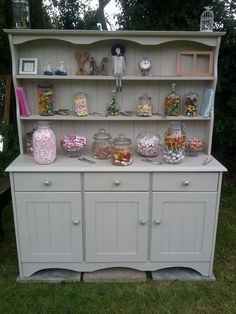 Our bargain dresser with a new lick of paint - great find!