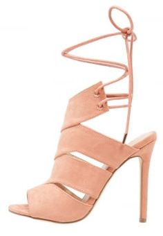 Missguided - High heeled sandals - cosmetic blush