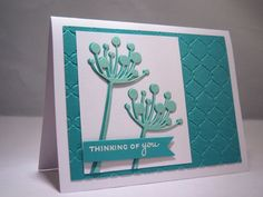 Handmade Get Well Soon Card, Thinking of You Card, Sympathy Card