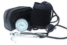 Santamedical Adult Deluxe Aneroid Sphygmomanometer with Stethoscope, Cuff and Carrying case: Health & Personal Care
