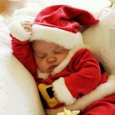 Babies first Christmas photo!!! Love