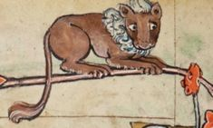 (3) TScaredy cat. Book of Hours, Cambridge, Trinity College MS B.11.22 (c.1300)witter