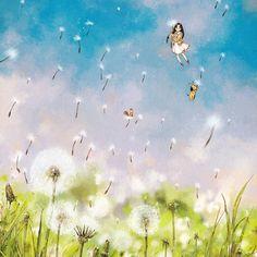"4,851 次赞、 15 条评论 - 애뽈 (@_aeppol) 在 Instagram 发布:""A cozy wind blowing. Spring has come along with the dandelion spores.  포근한 바람결, 민들레 홀씨 타고 봄이 왔어요.…"""