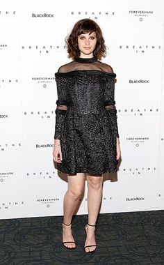 Pin for Later: Felicity Jones Is Never Going to Run Out of Beautiful Dresses At the New York Premiere of Breathe In in March 2014 Wearing Erdem. Felicity Rose Hadley Jones, Breathe, Nice Dresses, Formal Dresses, Beautiful Dresses, Beautiful Women, Fashion Vocabulary, Zoe Kravitz, High Fashion Photography