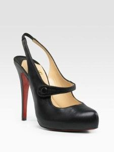 Christian Louboutin Slingback. $795 Aren't these fab?