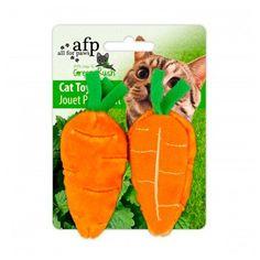 Brinquedo para Gatos Green Rush Cenoura All Natural Afp - Meuamigopet.com.br #cat #cats #gato #gatinho #bigode #muamigopet