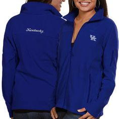 Kentucky Wildcats Columbia Women's Give & Go Full-Zip Jacket - Royal