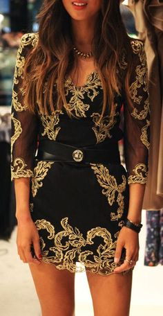 Baroque Mesh Dress <3
