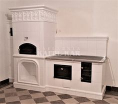 Kuchnia kaflowa Wood Oven, Rocket Stoves, Elements Of Design, Building A House, Kitchen Design, Fire, Quotes, Home Decor, Outdoor