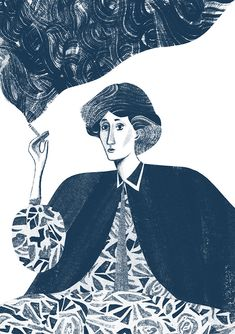 """It is true that I only want to show off to women. Women alone stir my imagination.""— VIRGINIA WOOLF, IN A LETTER TO ETHEL SMYTH, DATED 19 AUGUST 1930"