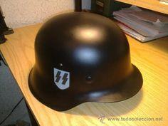 Casco aleman Waffen SS (réplica segunda guerra mundial. - Foto 1