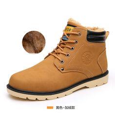 $27.14 (Buy here: https://alitems.com/g/1e8d114494ebda23ff8b16525dc3e8/?i=5&ulp=https%3A%2F%2Fwww.aliexpress.com%2Fitem%2FMen-ankle-boots-2016-hot-fashion-PU-men-warm-winter-Boots-shoes%2F32697881486.html ) Men ankle boots 2016 hot fashion PU men warm winter Boots shoes for just $27.14