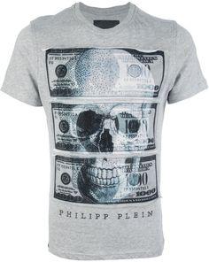 Philipp Plein Black Printed Tshirt for men Cool Tees, Cool T Shirts, Custom T Shirt Printing, Shirt Store, Mens Tee Shirts, Apparel Design, Swagg, Black Print, Shirt Designs
