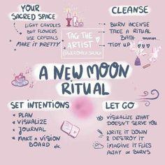 Rituals Set, New Moon Rituals, Full Moon Ritual, Witch Rituals, Full Moon Spells, Wiccan Spells, Magick, Magic Spells, Real Spells