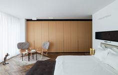 Galería de Colección de arte en un Penthouse / Pitsou Kedem Architects - 23