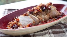 This is a perfect hands-off, rustic dinner for the holiday season. Seasoned and seared pork, slow cooked with a slightly sweet and spicy cranberry sauce!