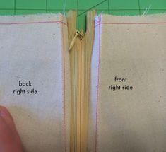 NEW Invisible Zipper Tutorial - Sew Tessuti Blog