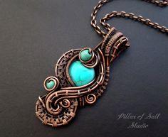 Jewellery by Sara. #metal #jewellery #inspiration #wirewrapped