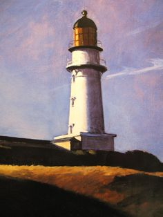 Edward Hopper: Lighthouse Hill 1927