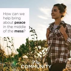 Make a Friend, Not a Point: Being a Peacemaker in a Fractured World