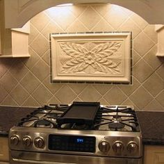 Tile French-Country Tile-Installation Designs For The Kitchen