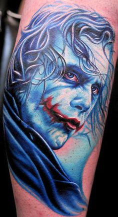 There are a million joker tattoos but this is my pick :)
