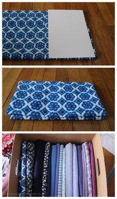 Organizing Fabric the Easy Way 2