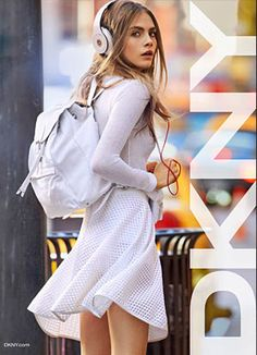 Cara Delevingne Is The New Face Of DKNY - 44FashionStreet.com