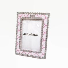 Comtemporary Bling Frame 4x6 Photo Frame by IllusionCreations