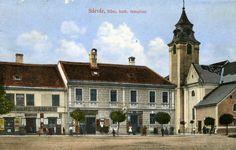 Főtér, Szent László római katolikus templom, Sárvár