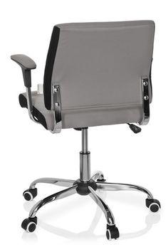 Bürostuhl / Drehstuhl AVIDA grau hjh OFFICE | buerostuhl24.com