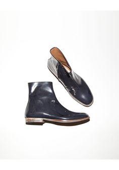 Maison Martin Margiela Line 22 / Writing-Enamel Boot