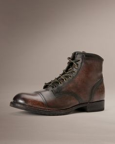 Logan Cap Toe - Men_Boots_Work - The Frye Company