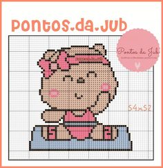 Painted Rocks, Charts, Cross Stitch, Teddy Bear, Baby Shower, Embroidery, Comics, Knitting, Toys