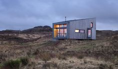 Kendram - Turf House - Rural Design Architects - Isle of Skye and the Highlands and Islands of Scotland Cabinet D Architecture, Green Architecture, Contemporary Architecture, Grand Designs Houses, Mini Loft, Tiny House Swoon, Long House, Contemporary Cottage, Vacation Home Rentals