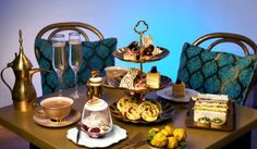 Enter A Whole New World With This Aladdin-Themed Afternoon Tea