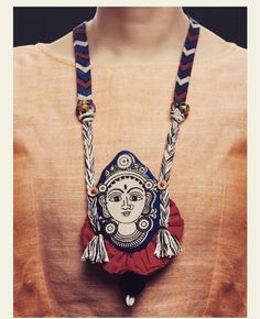 Instagram Diy Fabric Jewellery, Fabric Earrings, Textile Jewelry, Embroidery Jewelry, Clay Jewelry, Jewelry Crafts, Teracotta Jewellery, Terracotta Jewellery Designs, Handmade Jewelry Designs