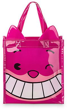 Tail wag Wonderland's resident feline challenges the notion that he's rather strange on this Cheshire Cat MXYZ Reusable Bag. ''I'm not crazy, my reality is just